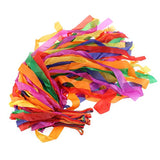 NUOLUX Dance Ribbon Rainbow Rhythm Ribbon Set for Kids - Pack of 12