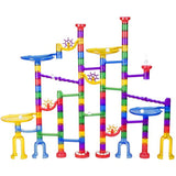 Oumoda Marble Run Toy, 122 Pcs Marble Game Learning Toy