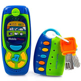 Toysery Cell Phone and Key Toy Set for Kids