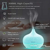 Night Light Essential Oil Diffuser 300ml, Aroma Essential Oil