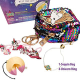 Simple Joy Toys Lucky Fortune Blind Collectible Bracelets - 4 Pack Take-Out Box Series