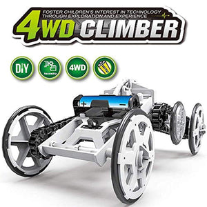 WomToy 4WD Car Toy Assembly Kit