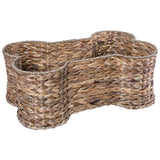Bone Dry DII Bone Shape Pet Organizer Storage Basket for Home Décor