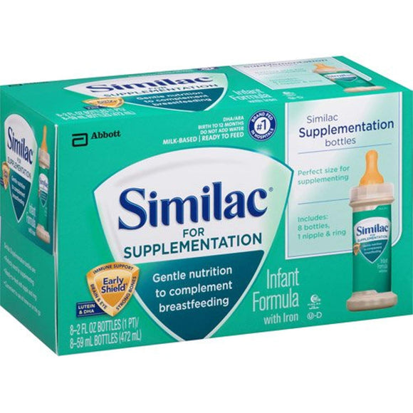 Similac Liquid Formula for Supplementation, 2 fl