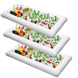 Inflatable Serving Bar Salad Ice Tray Food Drink Containers