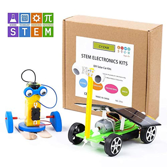 CY-ZAM DIY Robotics Science Kits STEM Toys for Kids