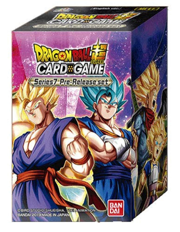 Dragon Ball Super Series 7 Assault of The Saiyans Booster pre-Release kit Set Box