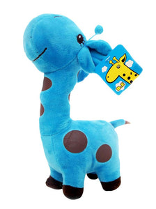 WinTime Kawaii 14'' Tall Stuffed Giraffe Soft Plush Toy Doll (Purple)