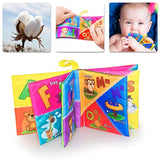 teytoy Soft Book, Nontoxic Fabric Baby Cloth Activity Crinkle Soft Books with Gift Packag