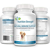 Nutrition Strength Immune Support for Dogs Plus Antioxidant