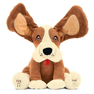 Collections Etc Etna Products TT Musical Dog with Floppy Ears