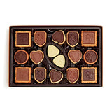 Godiva Chocolatier Assorted Chocolate Biscuit Gift Box, Great for a Gift, Chocolate Cookie, Chocolate Covered Biscuit, 32 pc