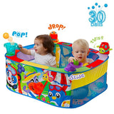 Playgro 0186366 Pop and Drop Activity Ball Pit for Baby Infant Toddler Children