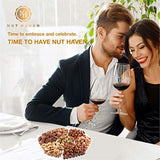 Fresh Sweet & Salty Dry Roasted Gourmet Nuts, Variety of 7 Sweet & Salty Nuts Tray