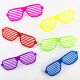 Mega Pack 50 Pairs of Kids Plastic Shutter Shades Glasses Shades Sunglasses