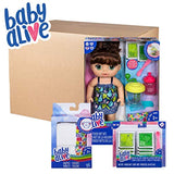 Baby Alive Sweet Spoonfuls Baby Brown Hair Doll