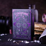 Cyberpunk Playing Cards, Purple Deck of Cards, Premium Card Deck,