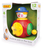 Tolo Toys Musical Jack in the Box