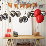 Trgowaul 70th Birthday Party Supplies