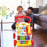 Rexun Baby Sit-to-Stand Learning Walker Push Toy Baby Walkers for