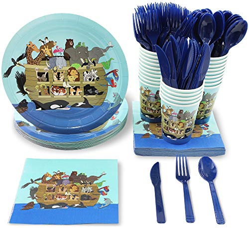 Animal Party Supplies - Serves 24