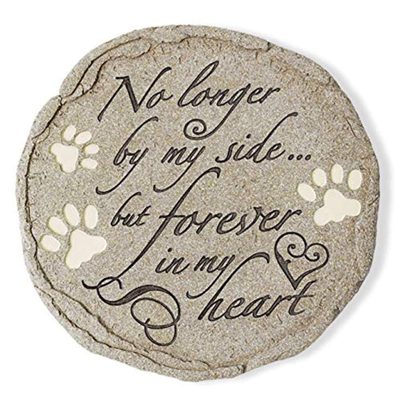 Orchid Valley Cat or Dog Grave Marker or Garden Memorial Stone