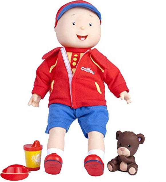 Caillou Best Friend Trilingual Talking Doll, English/ French/ Spanish Trilingual Talking Doll