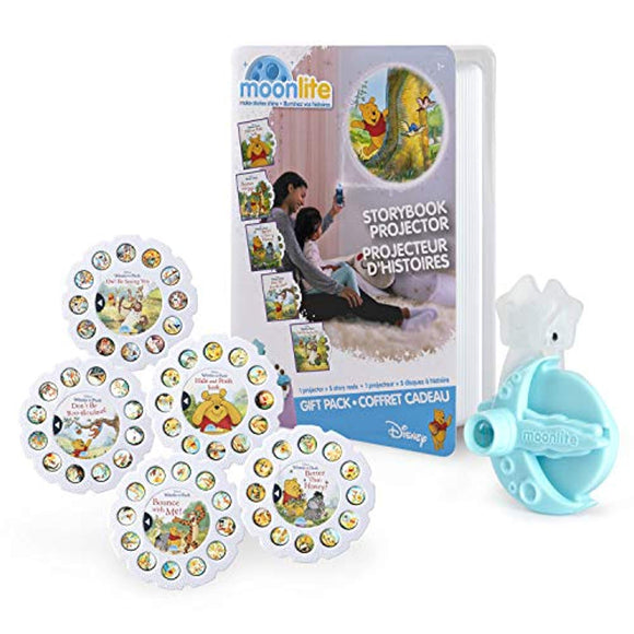 Moonlite, Winnie The Pooh Gift Pack with Storybook Projector for Smartphones
