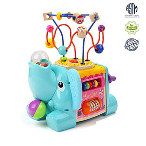 TOP BRIGHT Activity Cube Toys - Educational Baby Toys