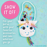 Creativity for Kids Unicorn Purse - Create A No Sew Fabric Unicorn Bag - Crafts