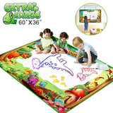 Betheaces Water Doodle Drawing Mat,Dinosaur Play Mats for Kids