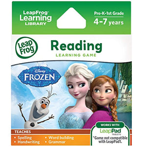 LeapFrog Disney Frozen Learning Game (for LeapPad Platinum, LeapPad Ultra, LeapPad2, LeapPad3)