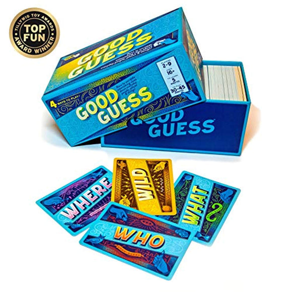 Good Guess: A Social Trivia Game...Race to Unriddle Intriguing Trivia Clues About Everyday Things.