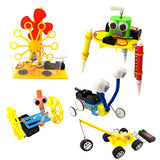 EUDAX DIY STEM Toys for Kids,Electric Motor Robotic Science Kits,Building Science Experiment Kits
