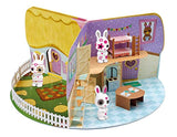 Fuzzikins Cottontail Cottage Craft Pop-Up Book Playset
