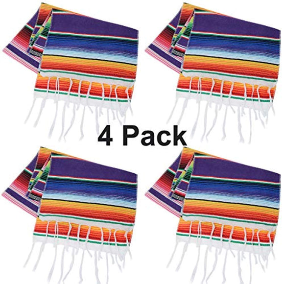 Tenpluszero Mexican Table Runner for Fiesta Party,Mexican Theme Party,Wedding Decorations