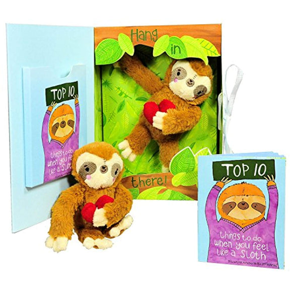 Get Well Gifts - Feel Like a Sloth? Hang in There! Get Well Soon Gift