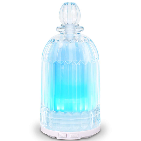 COSVII Essential Oil Diffuser Humidifier, Aroma Glass Diffuser