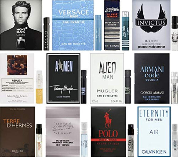 Best Selling Designer Fragrance Sampler for Men