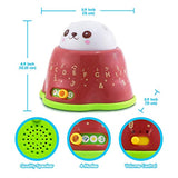 BEST LEARNING Whack & Learn Mole - Interactive Light-Up Baby Toddler Toys for Kids 6-36 Months