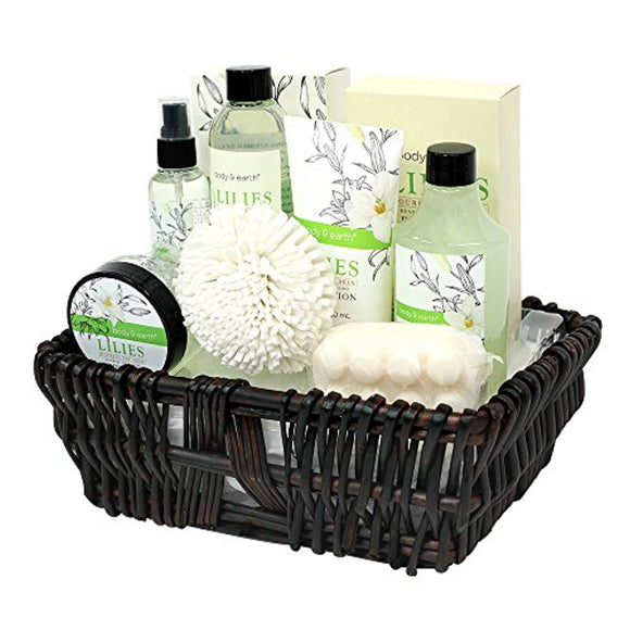 Gift Baskets for Women, Body & Earth Spa Gifts for Her