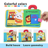 beiens 3Pcs My Quiet Books - Soft Activity Books for Baby /Toddler