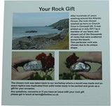 Pirantin 10th Anniversary 100% Tin You are My Rock Gift Idea