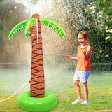 Viyor shop Sprinkler Water Toys Inflatable Palm Tree for Kids