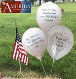 Biodegradable Remembrance Balloons