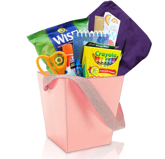 Cool Glow-in-the-Dark Kids Gift Basket