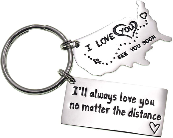 LParkin Love Keychains for Couples