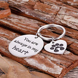 Pet Memorial Gifts Keychain for Pet Dogs Owner Dog Mom Dad Remembrance