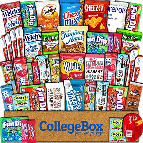 College Box Care Package (45 Count)
