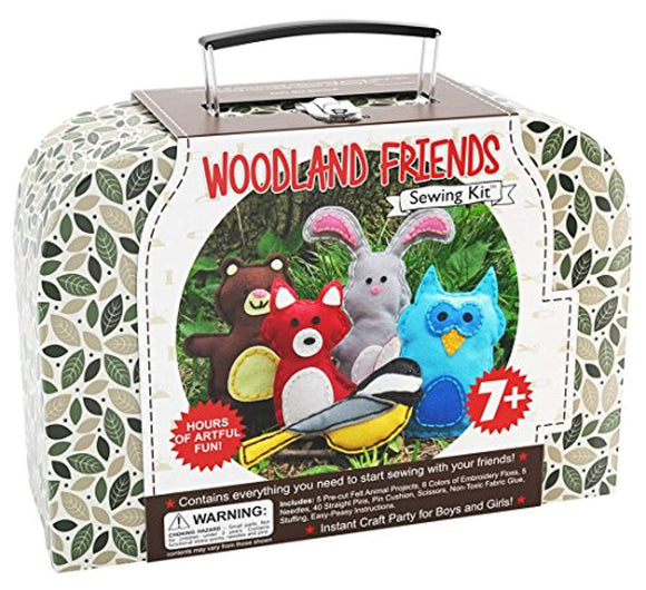 CraftLab Sewing Kits Woodland Animals Craft Educational Sewing Kit